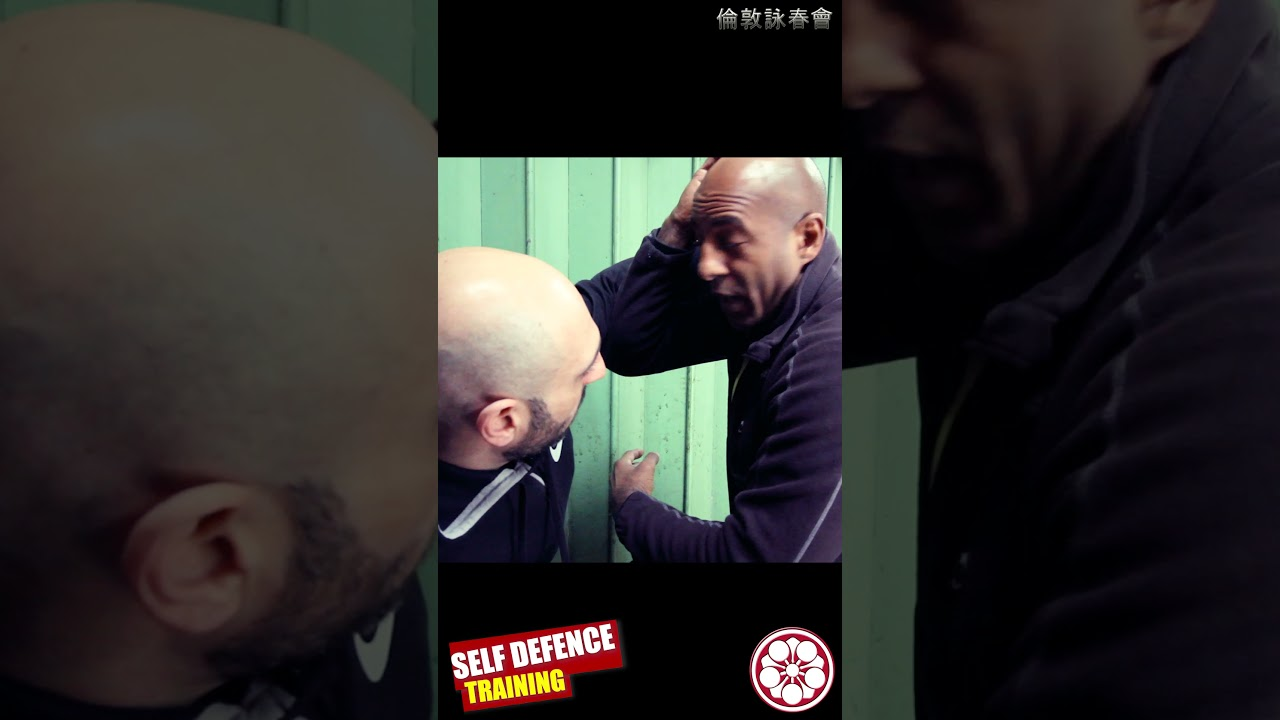 HAMMER FISTS & ELBOWS!.. DEFENDING Uppercut to Hook in STREET #shorts