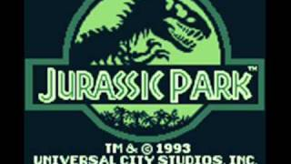 Repeat youtube video Jurassic Park Game Boy Level 1 Music