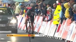 Велоспорт  Тур де Франс  1 й этап 3 часть