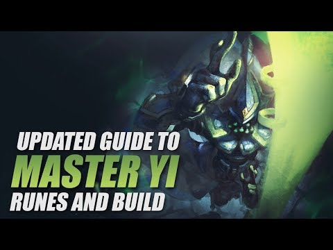 Updated Master Yi Runes and Build  - CONQUEROR IS BEST? - Cowsep's Guide