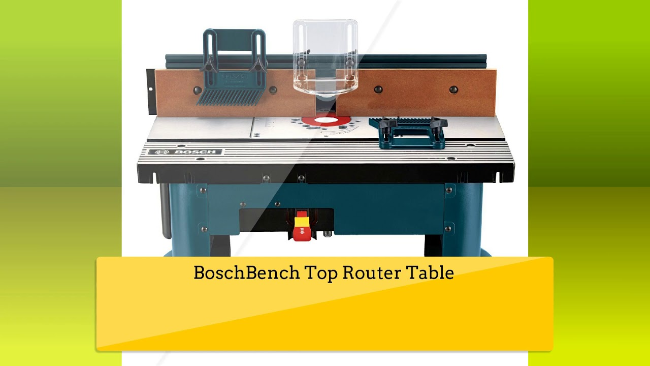 Best Router Table To Buy Router Table Reviews Youtube
