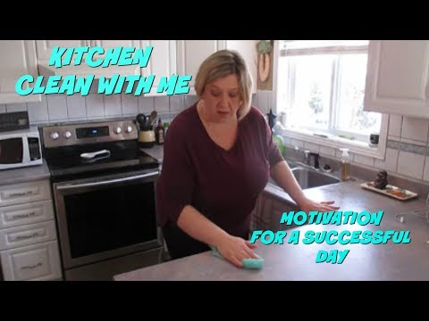 Kitchen Clean With Me - Motivation For A Successful Day