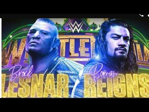 Brock Lesnar vs Roman Reigns WrestleMania 34 thumbnail