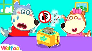 Stop, Lucy! It's Too Hot - Learn Safety Tips for Kids in the Kitchen With Wolfoo | Wolfoo Channel