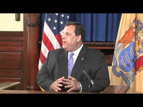 Governor Christie Remarks on Medical Marijuana Program Implementation, July 19, 2011