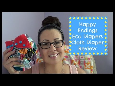Happy Endings Eco Diapers Cloth Diaper Review /GIVEAWAY ENDED thumbnail