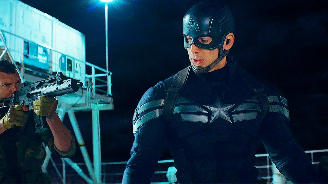 Download Captain America Opening Ship Fight Scene - Captain America: The Winter Soldier (2014) Movie CLIP HD