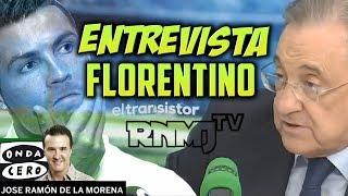 Entrevista a Florentino Pérez sobre Cristiano Ronaldo en El Transistor (19/06/2017)