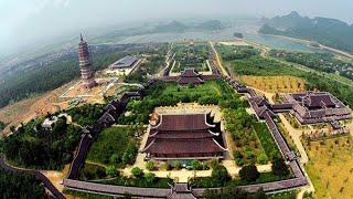 toàn cảnh khu du lịch chùa bái đính ninh bình