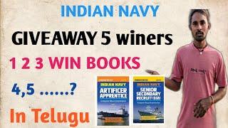 Indian nvay books giveway in telugu 2019