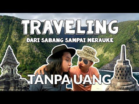 NEKAT!!! TRAVELING DARI SABANG SAMPAI MERAUKE GAK PAKE UANG with RIC SNT