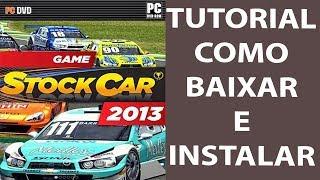 Game Stock Car 2013 (PC) Tutorial Como Baixar e Instalar