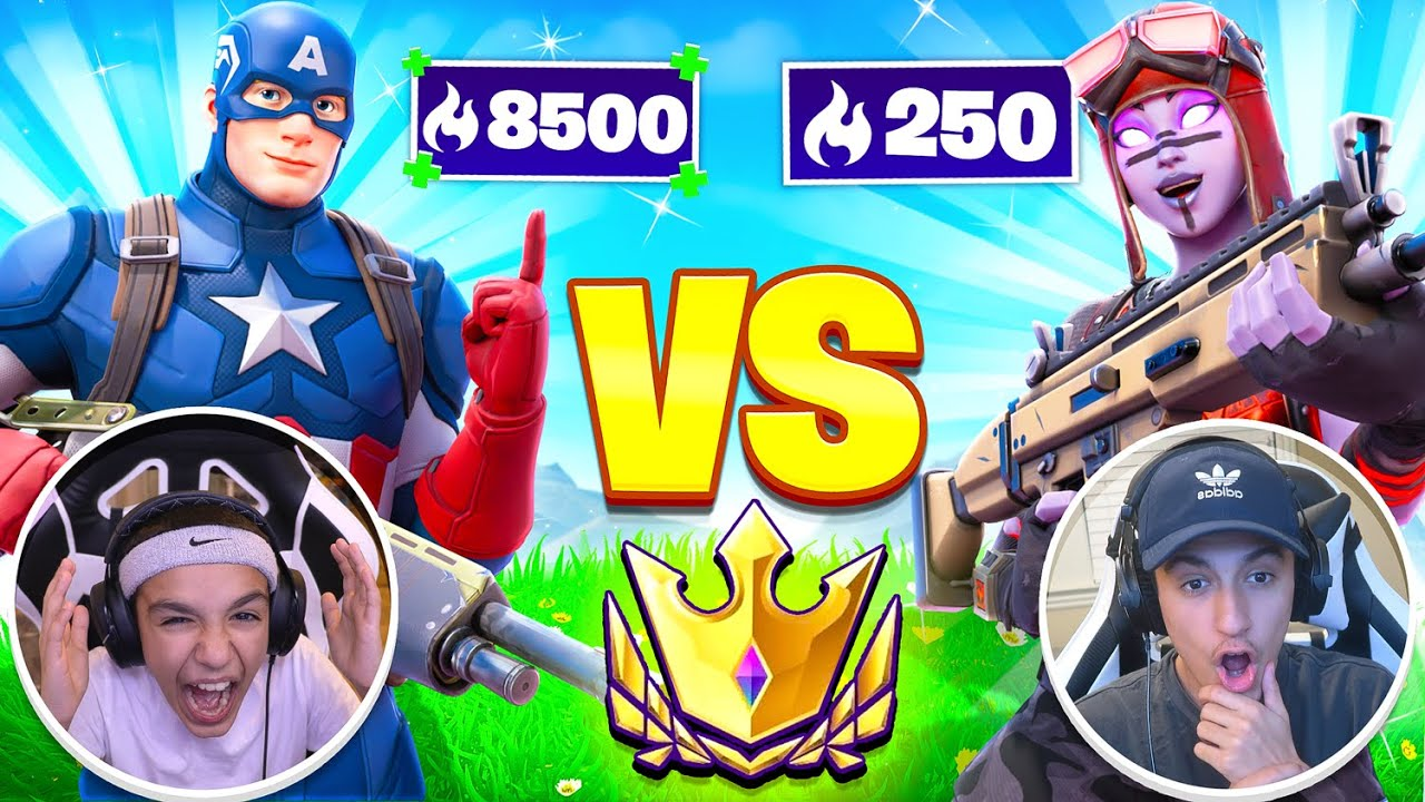 Get The Most Fortnite Arena Points In 24 Hours Win 10k VBucks Challenge With Little Brother!