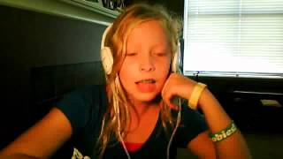 AMAZING! 11 Year Old Girl Raps Not Afraid-Eminem (Clean Version)