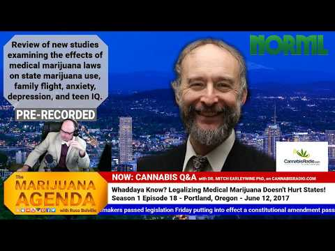 Whaddaya Know? Medical Marijuana Did Nothing To Harm the States That Passed It!