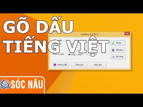 Cách Gõ Tiếng Việt Trên Máy Tính