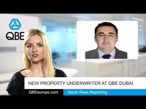 New Property Underwriter at QBE Dubai