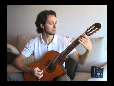 Tech/melodic Death Metal on classical guitar! (Facundo López of the band GEODA playing
