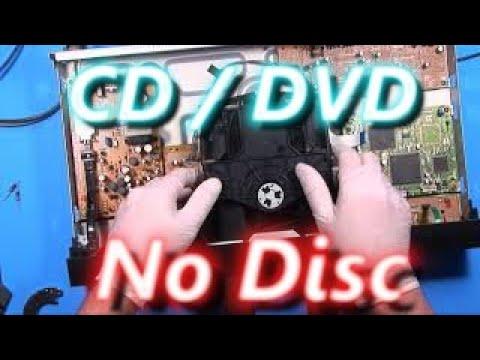 "Fixing a Sony DVD / CD player ""No Disc"" error."