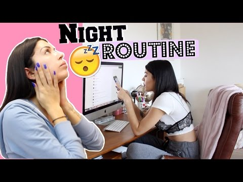 Night Routine  Spring Edition !