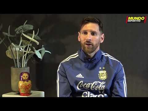 Entrevista a Leo Messi