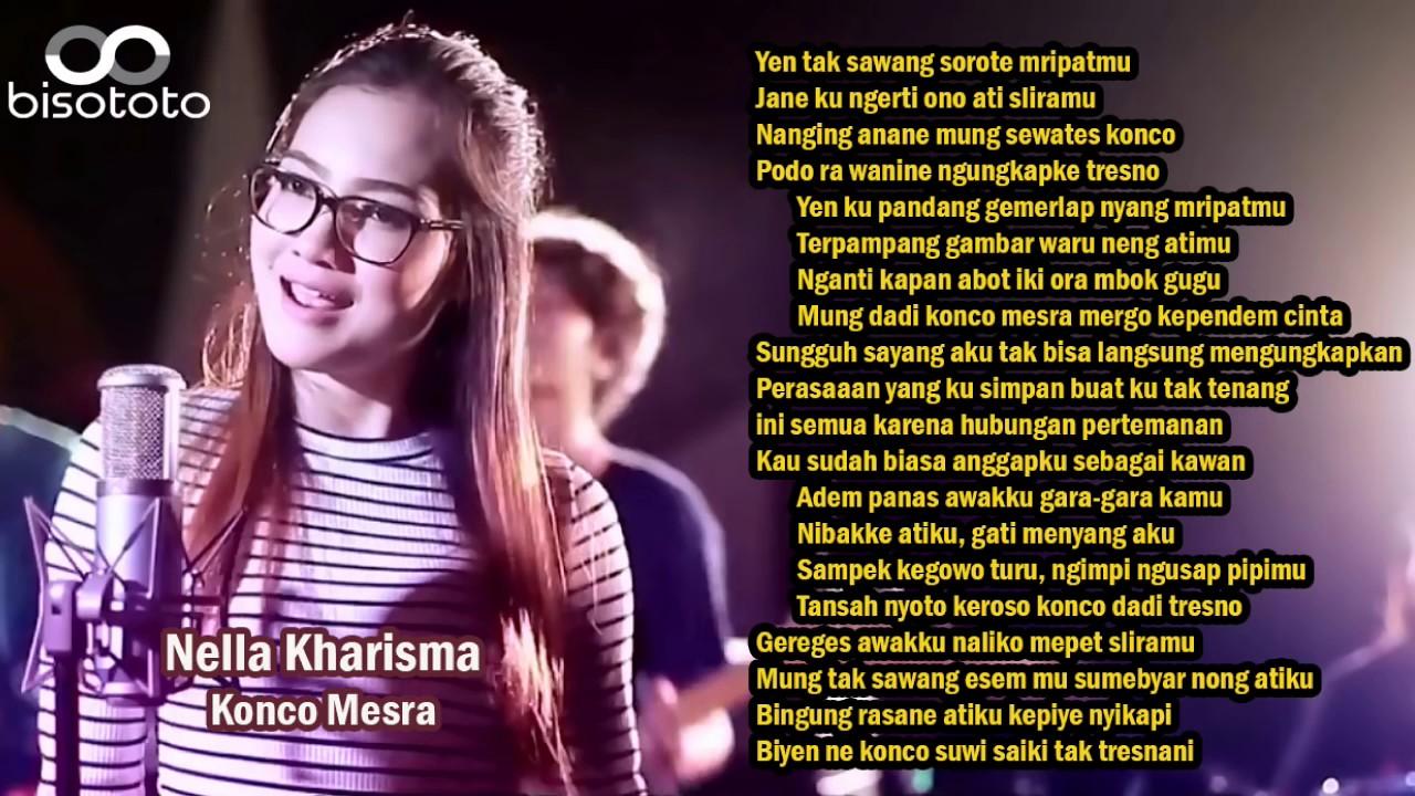 Mesra kharisma lagu download nella konco Lirik Lagu