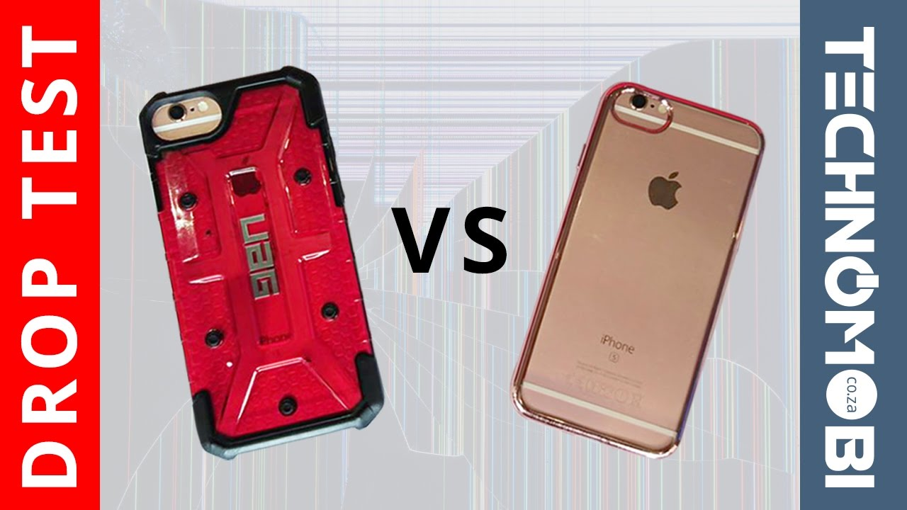 new style db681 8863f UAG Protective Case Vs Cheap Fashion Store Case - Drop Test