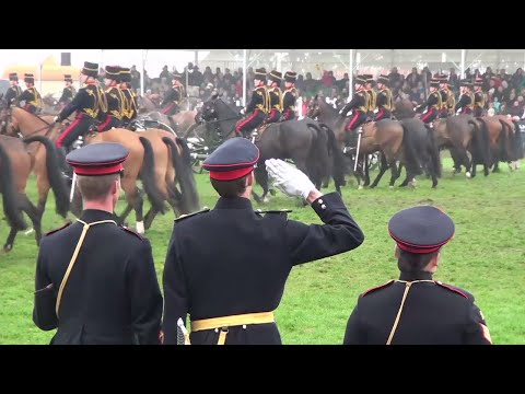 Kings Troop Royal Horse Artillery Full Performance - Royal Norfolk Show 2017