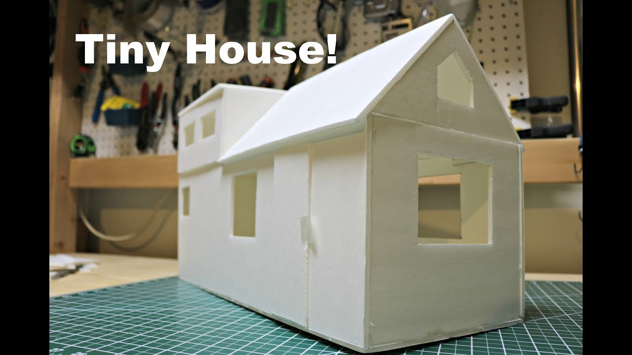 How To Build A Tiny House Model Youtube