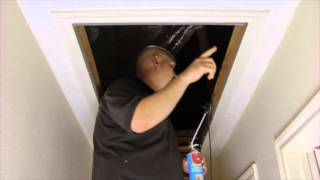How To Seal Around Your Attic Entrance and Install an Attic Door Cover by HeatBlockers Thumbnail
