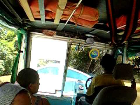 Boat from Tortuguero to Moín, Costa Rica