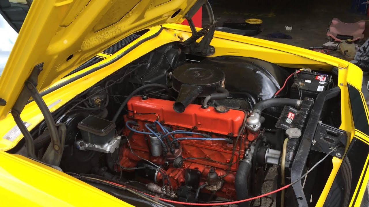 holden 202 red motor and 3 speed trimatic