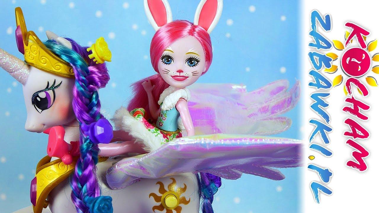 Enchantimals • Stylizacja włosów Księżniczki Celestii • My Little Pony • Bajki i kreatywne zabawy