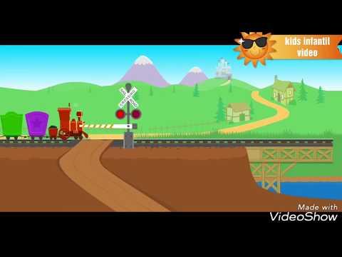 Starfall Numbers Train   Kids Learning Video