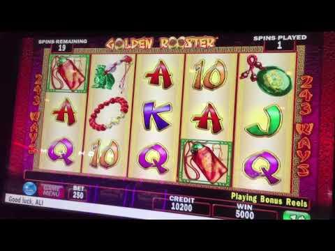 Golden rooster slot machine bonus