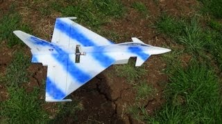 RC Euro fighter Depron 6mm