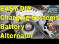 Alternator battery check - charging system check Ford Chevy Dodge