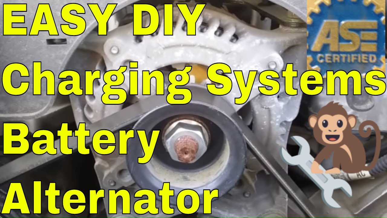 How to test an Alternator charging system check Ford Chevy Dodge