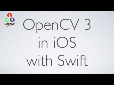 OpenCV 3 with Swift