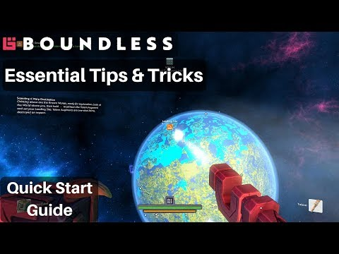 Essential Tips & Tricks | Quick Start Guide | Boundless v180