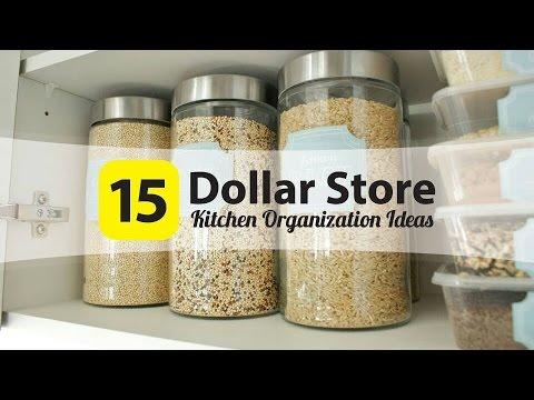 15 Dollar Store That Make Amazing Kitchen Organizers