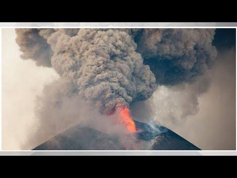 El volcán Telica explota en Nicaragua