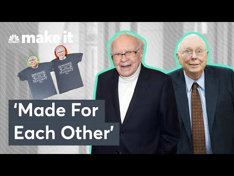 Billionaire Warren Buffett On His Successful Relationship With Charlie Munger