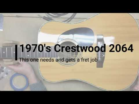 1970s Crestwood 2064 - Needs and Gets a Fret Job