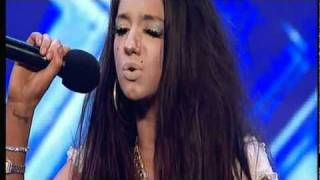 Repeat youtube video X-Factor - Chloe Victoria - Spoilt or Talented? (Try to ignore the slugs above her eyes)