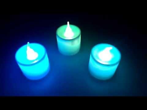 Светящиеся свечи