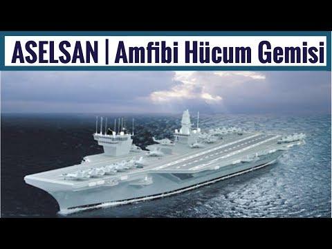 ASELSAN | Çok Maksatlı Amfibi Hücum Gemisi Sistemleri