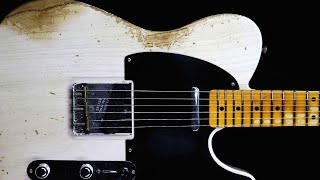 Classic Blues Rock Guitar Backing Track Jam in A