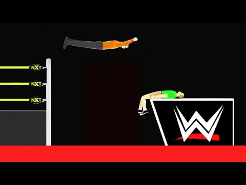 INSANE WWE TAKEDOWN! (Happy Wheels #74)