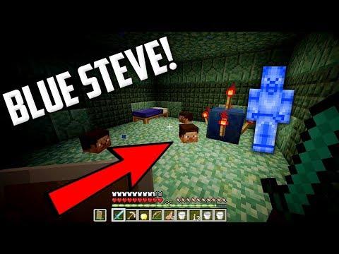 ECCO COS'E' SUCCESSO IN LIVE... (BLUE STEVE) - Minecraft ITA